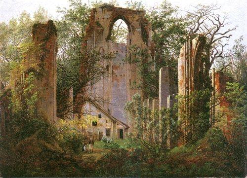Caspar David Friedrich: Klosterruine Eldena bei Greifswald