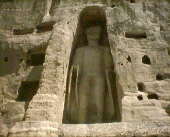 Buddhastatue in Bamyan