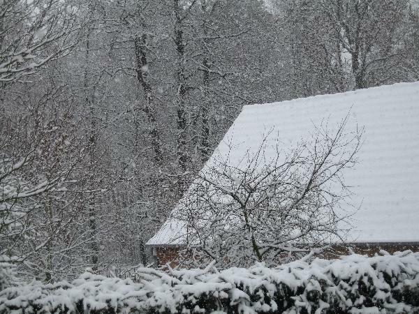 Der Schnee kam früh dieses Jahr