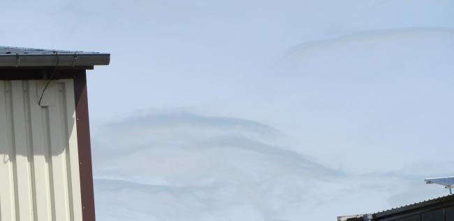 Pfingsthimmel in Groß-Kiesow