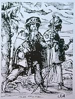 Pilger auf dem Jacobsweg