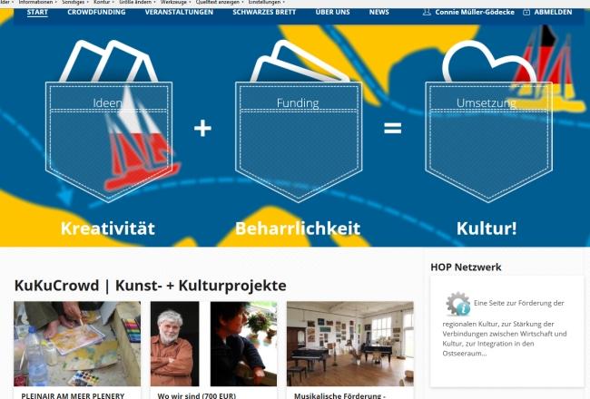 KuKuCrowd - Schwarmfinanzierung für Kultur