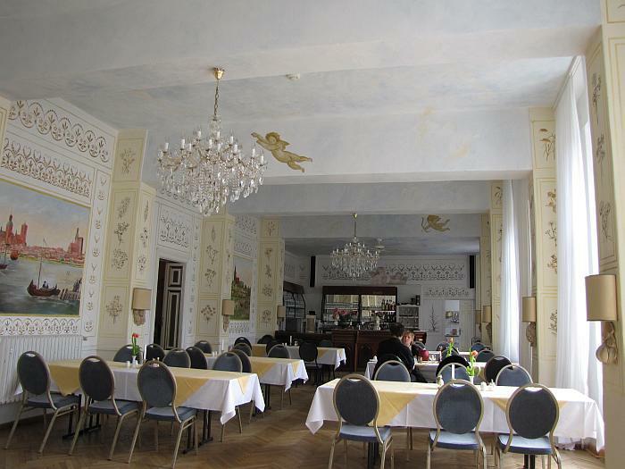 Speisesaal Schloß-Hotel Ranzin