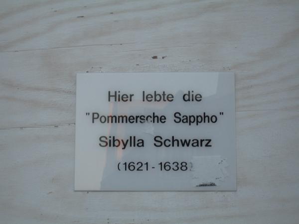 Sybilla Schwarz Lebensdaten